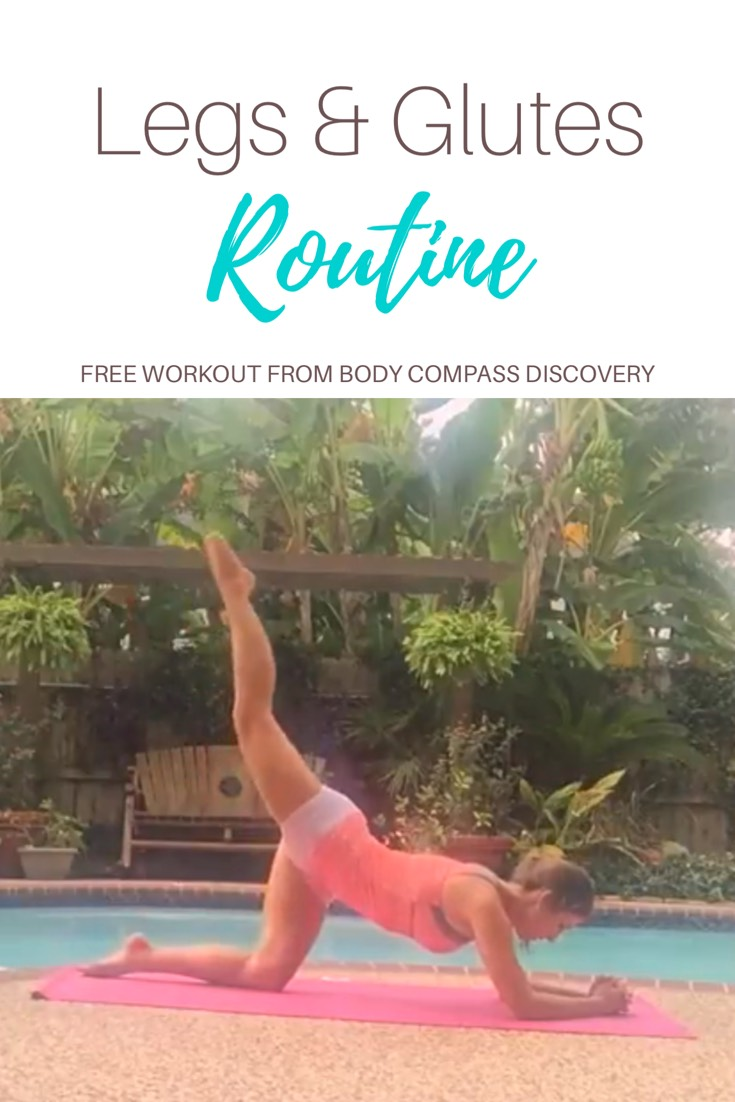 Legs & Glutes Routine YouTube Video from Body Compass Discovery