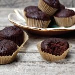 chocolate beet mini muffins from Natural Contents blog