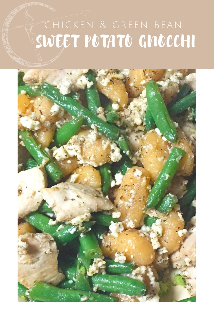Chicken & Green Bean Sweet Potato Gnocchi recipe from Body Compass Discovery's blog