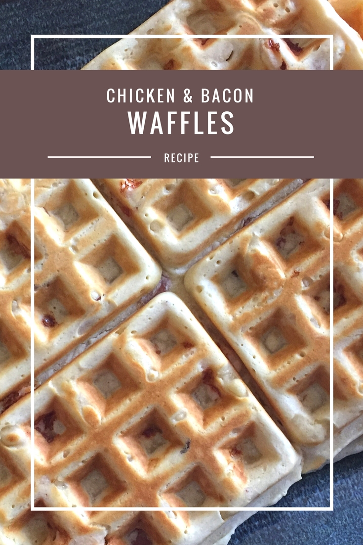 Chicken & Bacon Waffles recipe from Body Compass Discovery's blog