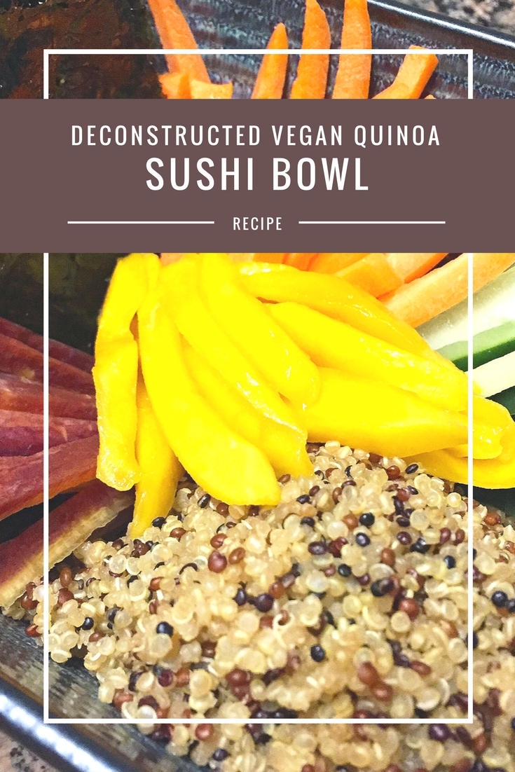 Vegan Quinoa Sushi Bowl from Body Compass Discovery's blog