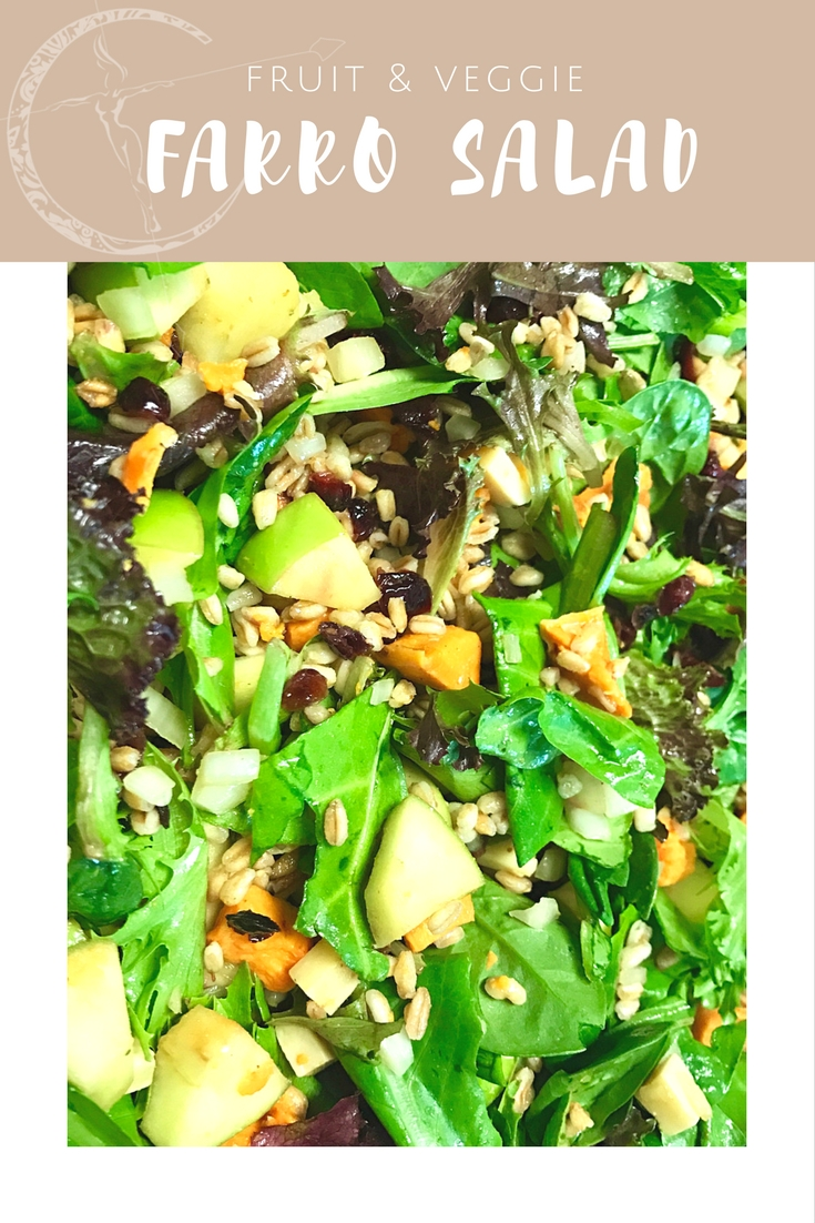 Green apple, Butternut Squash and Farro Salad recipe from Body Compass Discovery's blog
