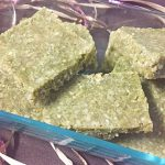matcha cashew breakfast bars