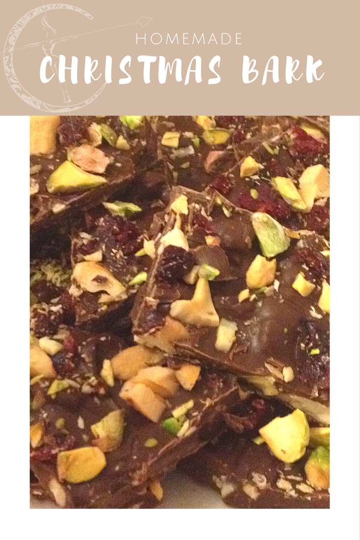 Christmas bark recipe from Body Compass Discovery's blog