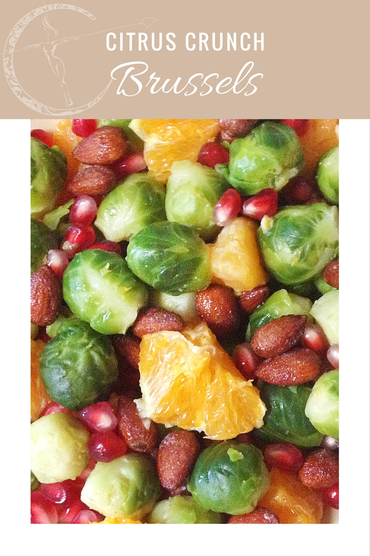 Citrus Crunch Brussels recipe from Body Compass Discovery's blog