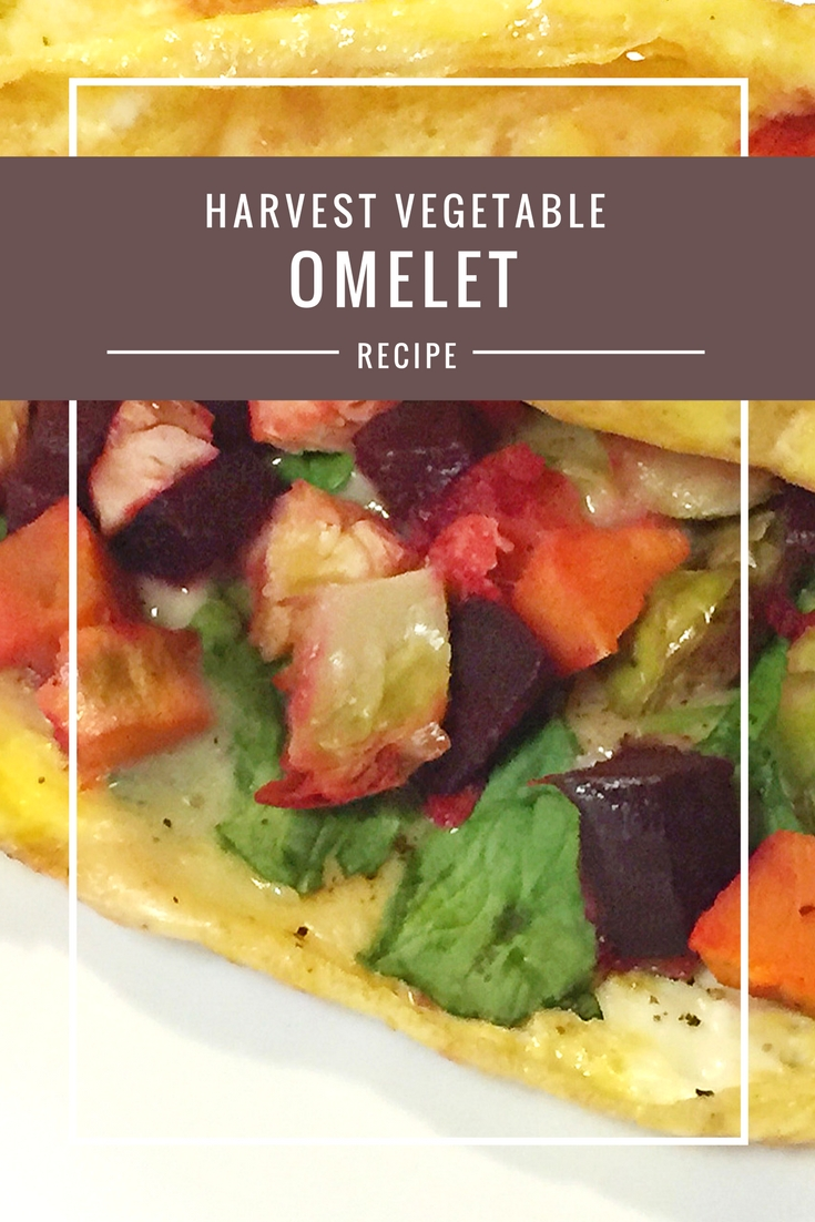 Harvest Vegetable Omelet recipe from Body Compass Discovery's blog