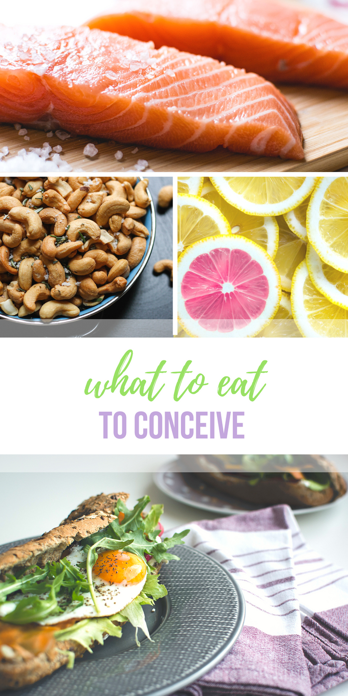 What to Eat to Conceive - #fertilitydiet tips from Body Compass Discovery's blog