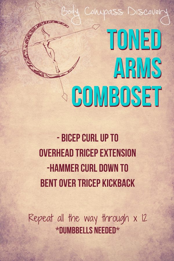 Toned #Arms Comboset Routine from Body Compass Discovery's blog