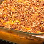 baked pecan squash and sweet potato casserole