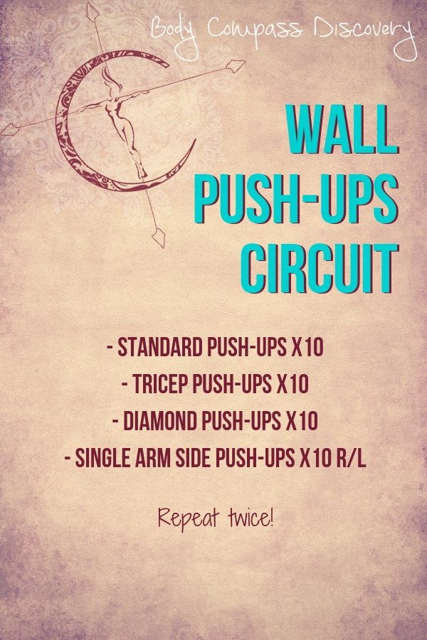 Wall Push-Ups Routine from Body Compass Discovery
